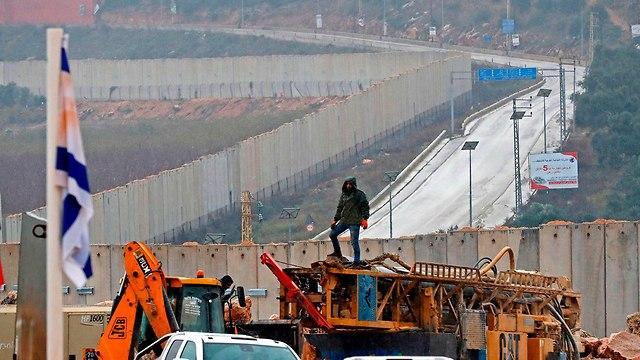 IDF works on Israel-Lebanon border (Photo: AFP)
