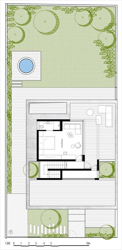 קומת הגג (תוכנית: בריק רווה אדריכלים)