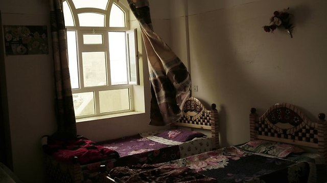 A bedroom at the Rehabilitation Of Children Recruited and Impacted By War in Yemen Project center in Marib, Yemen.