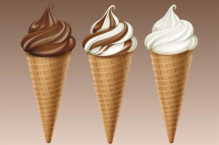 גלידה אמריקאית (צילום: shutterstock)