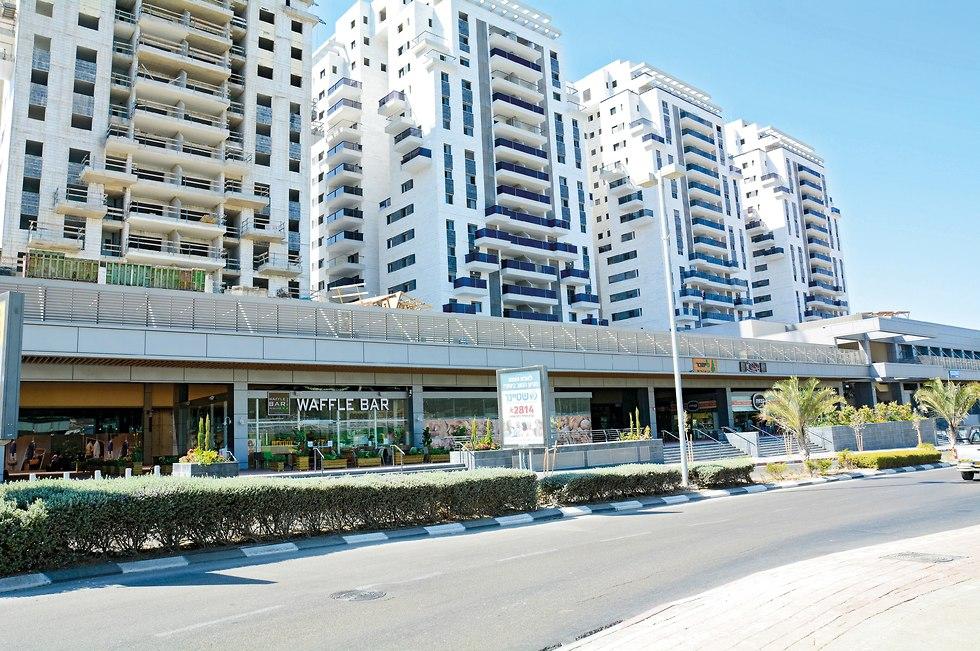 פרויקט נופיה ומתחם שער העיר בבית שמש (צילום: איתמר סיידא)
