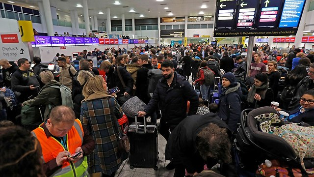 Thousands of passengers were affected by cancellations (Photo: Reuters)