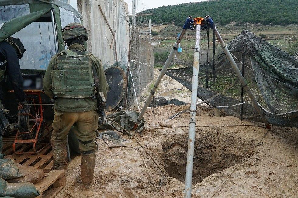 ЦАХАЛ уничтожает туннели Хизбаллы. Фото: пресс-служба ЦАХАЛа