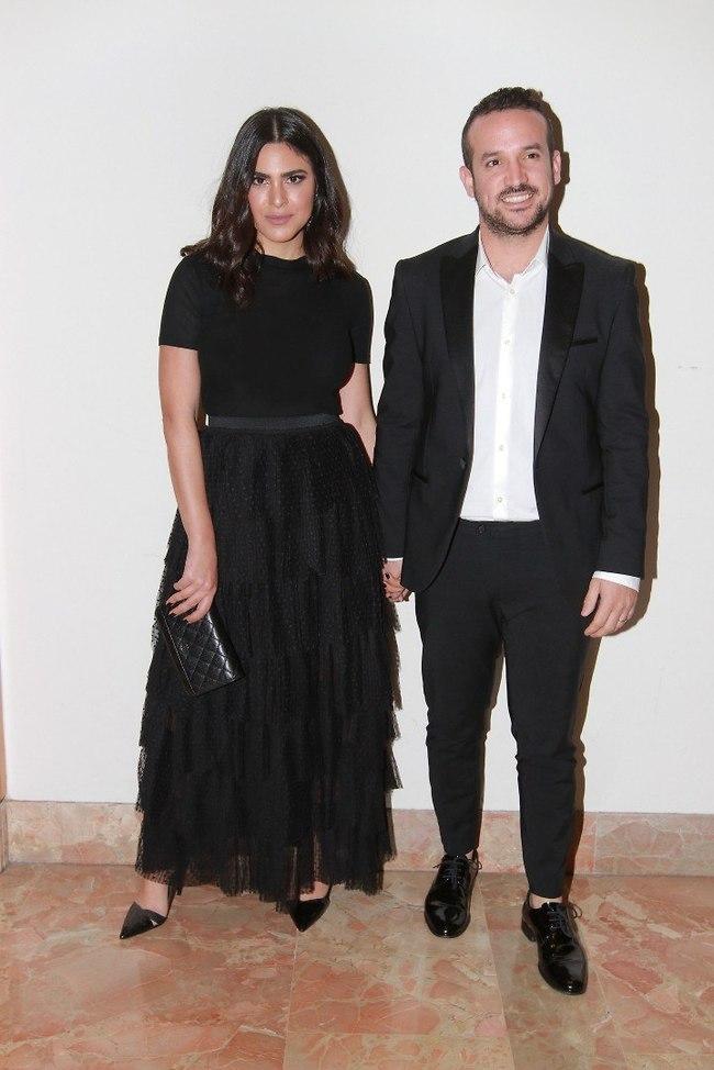 באו להרים לזוג. נופר מור ובעלה רון (צילום: ענת מוסברג)