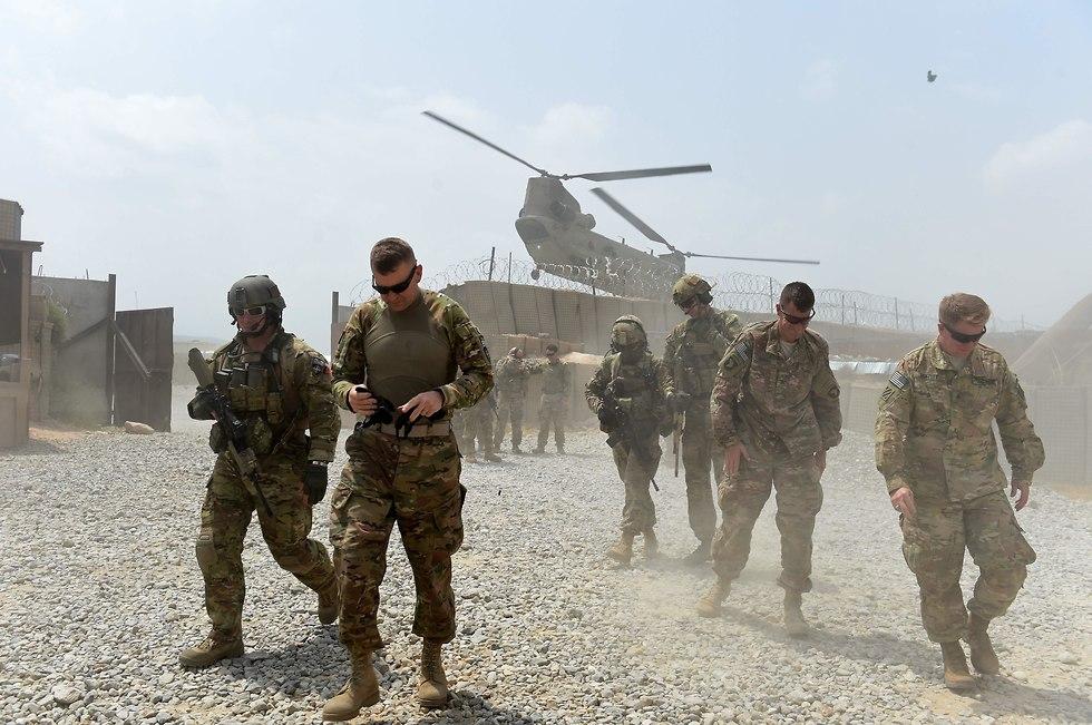 כוחות אמריקניים באפגניסטן, ארכיון (צילום: AFP)