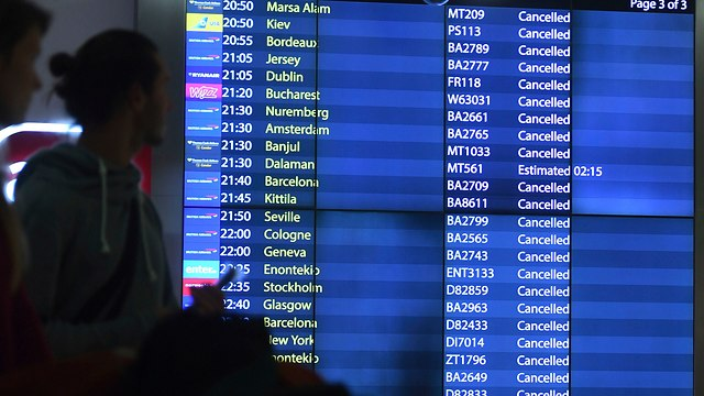 Cancelled flights (Photo: AP)