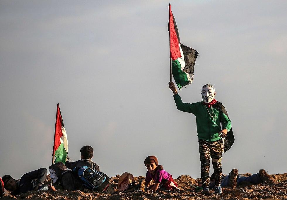 Gaza protests (Photo: EPA)