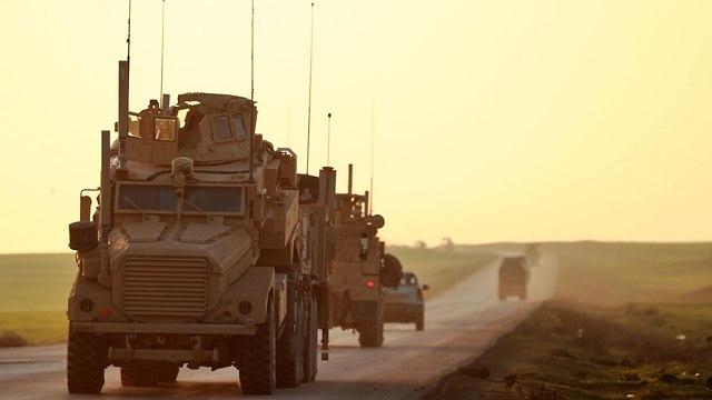 כוחות צבא אמריקנים בסוריה (צילום: AFP)