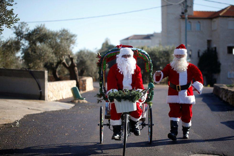 Christmas 2018 in Mi'ilya (Photo: Reuters)