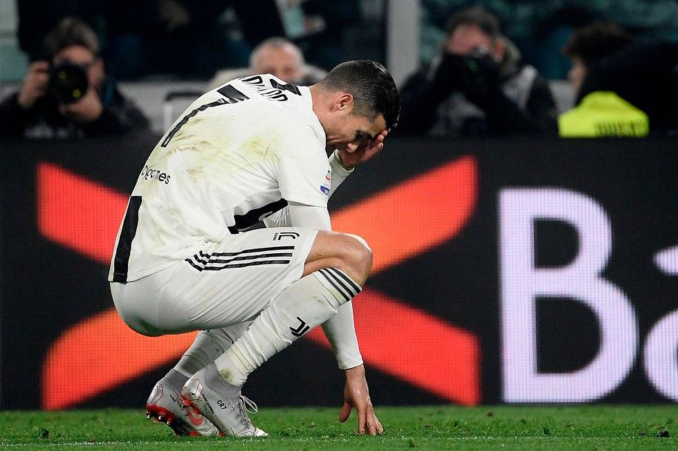 כריסטיאנו רונאלדו לא הצליח לכבוש (צילום: AFP)