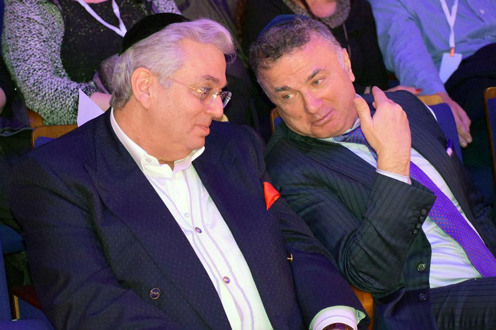 מיכאל מירילשוילי ואהרון ג. פרנקל (צילום: יח