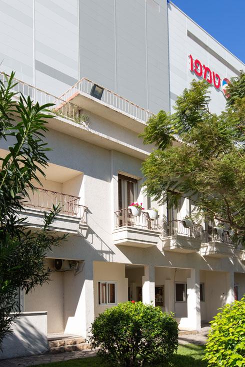 הווילה הפרטית שהפכה למשרדי ההנהלה  (צילום: דור נבו)