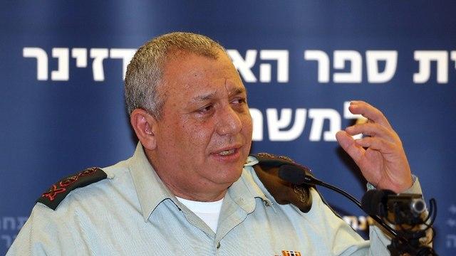 IDF Chief of Staff Gadi Eisenkot  (Photo: Yariv Katz)