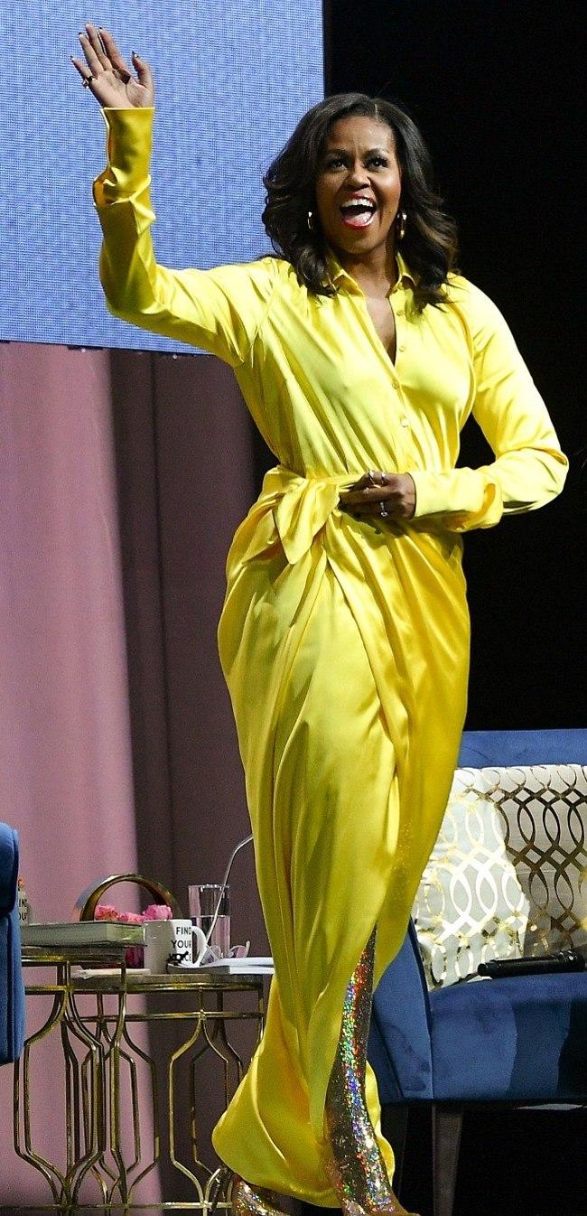 יאוזה! מישל אובמה (צילום: Gettyimages)