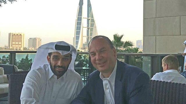 Rabbi Marc Schneier with al-Thawadi