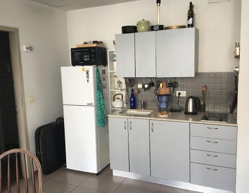 המטבח הפתוח (צילום: דקל גודוביץ)