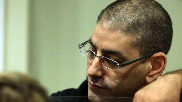 מוטי חסין בבית משפט המחוזי בתל אביב (צילום: מוטי קמחי)