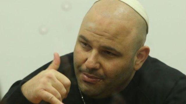שלומי ניאמציק נאשם בבית משפט המחוזי תל אביב (צילום: מוטי קמחי)