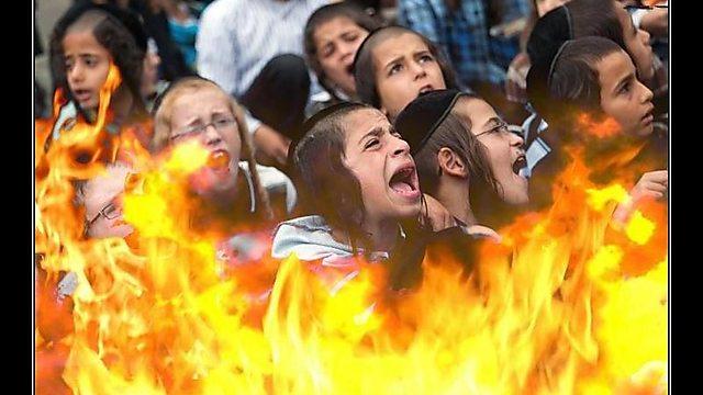 Так антисемиты предлагают расправляться с юными хасидами