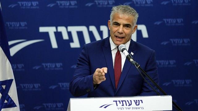 Yesh Atid Chairman MK Yair Lapid (Photo: Amit Shaabi )
