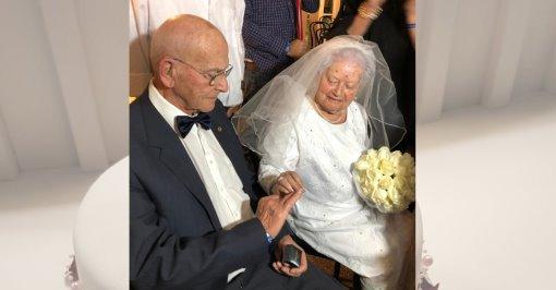 Шошана и Натан Ариав снова женятся. Фото: семейный архив