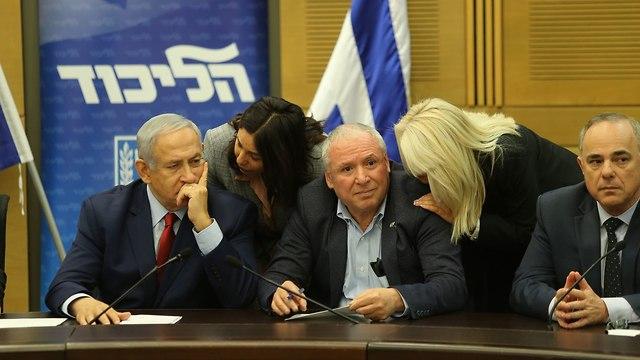 Заседание фракции Ликуда. Фото: Амит Шааби