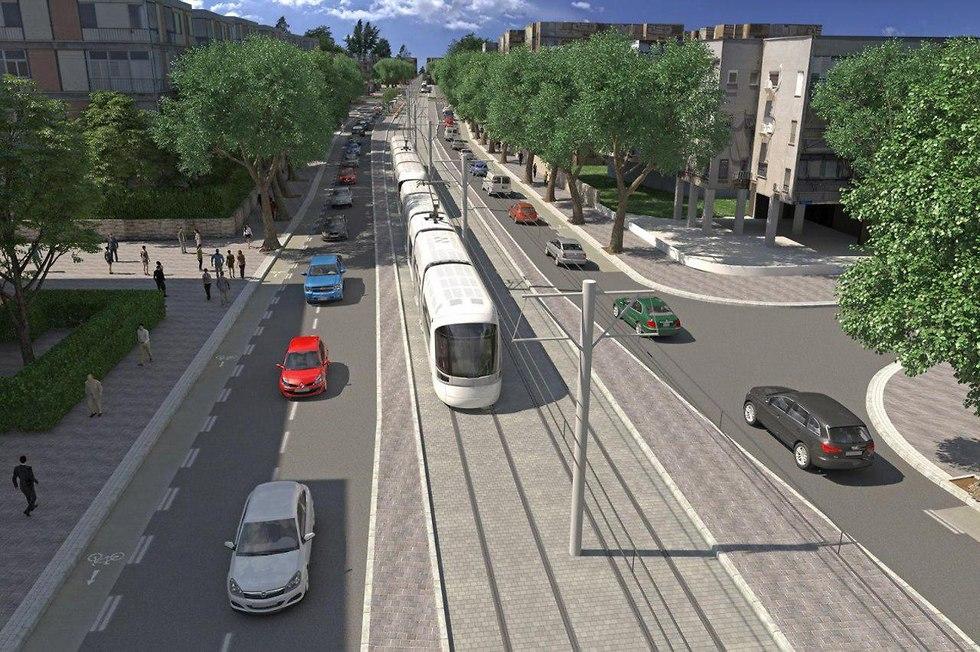 """Какие светофоры будут управлять движением на """"фиолетовой"""" линии тель-авивского метротрамвая? Фото: НЕТА"""