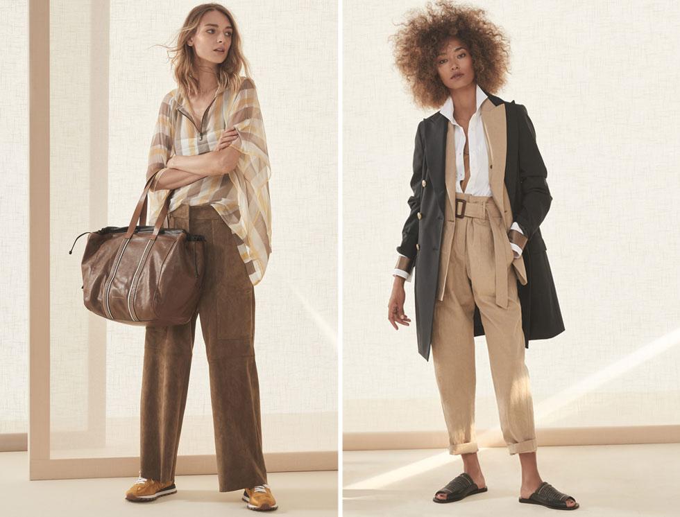 לחנות החדשה בכיכר המדינה נבחרו מתוך הקולקציה בגדים בהירים וקלים יותר, המתאימים לאקלים הישראלי