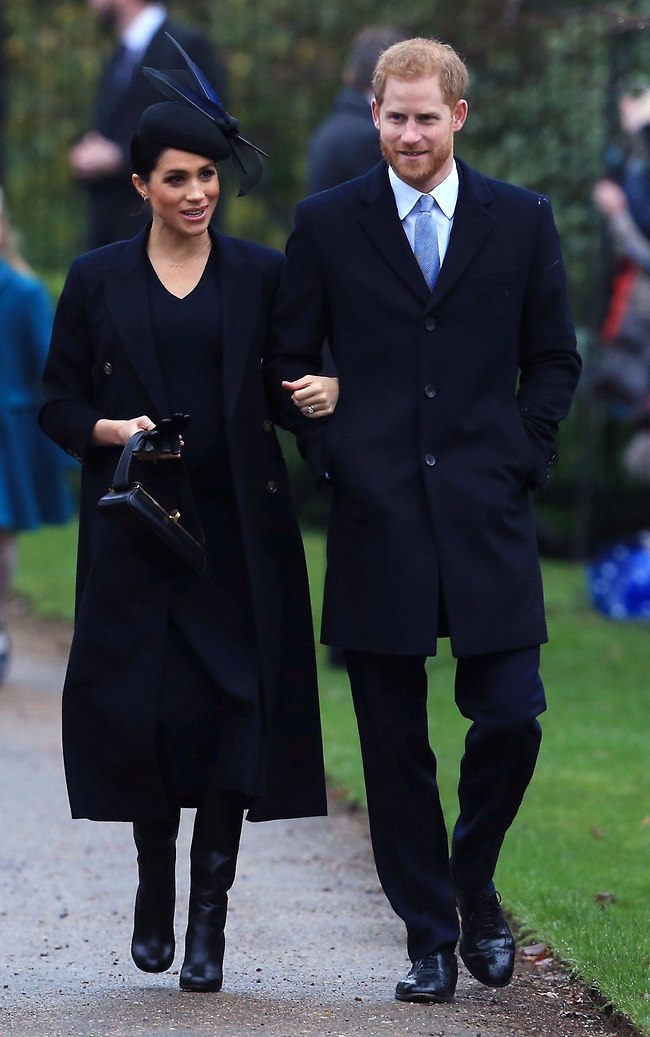 ההורים הטריים. הנסיך הארי ומייגן מרקל (צילום: Gettyimages)