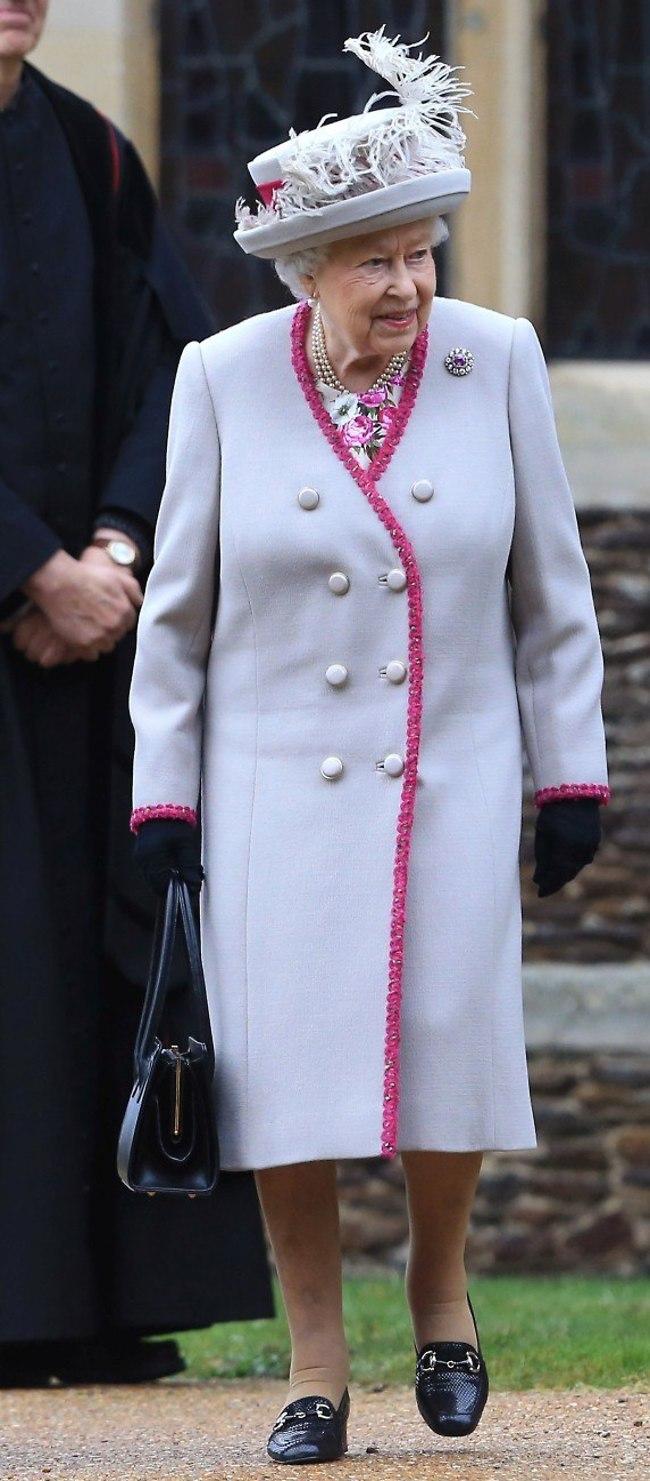 מלכה! המלכה אליזבת (צילום: Gettyimages)
