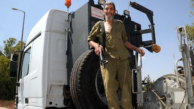 Yishai Zimmerman (Photo: Haim Horenstein)