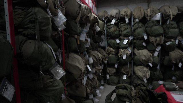 יחידות מחסני עוצבת ״האש״ (צילום: דובר צה