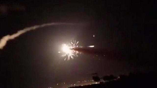 Alleged IDF strike in Syria