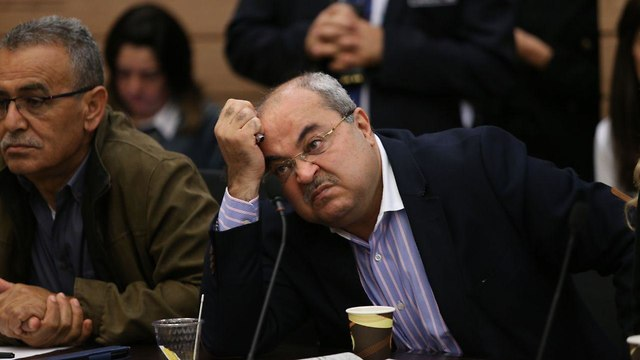 MK Ahmad Tibi (Photo: Alex Kolomoisky)
