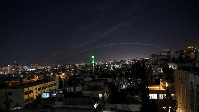 IDF strike in Syria (Photo: TNS)