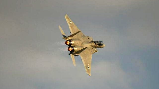 Israeli Air Force fighter jet