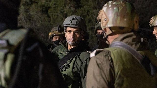 """Операция """"Северный щит"""" на границе с Ливаном. Фото: пресс-служба ЦАХАЛа"""