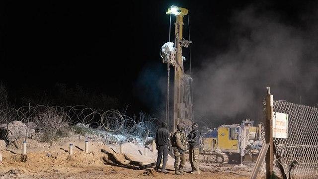 """Операция """"Северный щит"""" на границе с Ливаном. Фото: пресс-служба ЦАХАЛа  (Photo: IDF Spokesman)"""