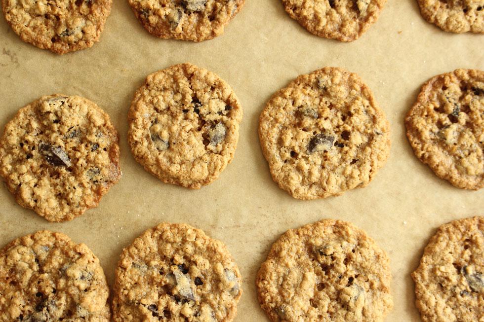 עוגיות שיבולת שועל עם שוקולד צ'יפס וקפה (צילום: מיכל שמיר)
