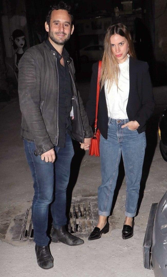 בילוי בג'ינס. אדוה דדון וגלעד שלמור (צילום: אמיר מאירי)