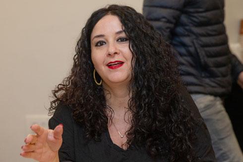דלית זילבר, ראש מינהל התכנון, שמובילה את הדיונים בוולחו''ף, בדיון האחרון (צילום: אוהד צויגנברג)