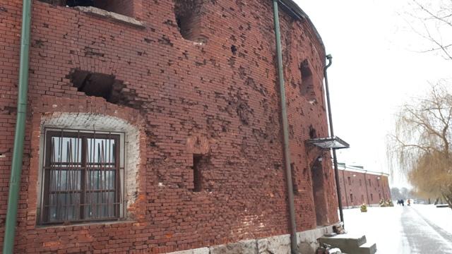 Каземат Брестской крепости, где размещалась темница НКВД. Фото: Давид Шехтер