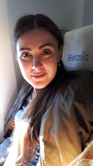 Репатриантка Таня в самолете. Фото: Давид Шехтер