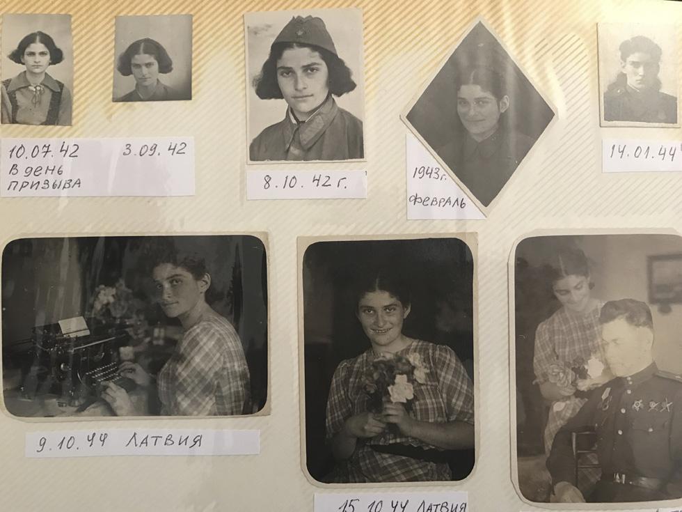 Белла в 1942 году. Страница из семейного альбома