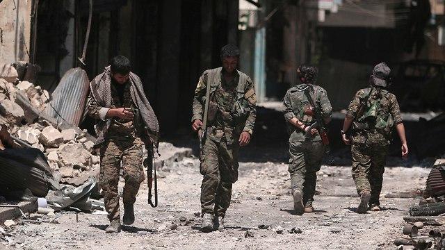 מאנביג' סוריה מנביג' עברה לשליטת סוריה מידי הכורדים (צילום: רויטרס)