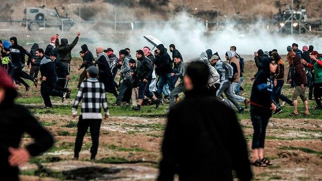 צעדת השיבה (צילום: AFP)