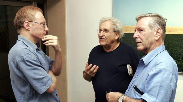 Left to right: David Grossman, A. B. Yehoshua, and Amos Oz   (Photo:  Gettyimages)