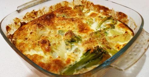 פשטידת ירקות עם שיבולת שועל (צילום: סיון פלג)