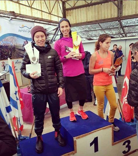 Bracha 'Beatie' Deutsch wins the National Half Marathon (Photo: Bracha Deutsch Instagram)