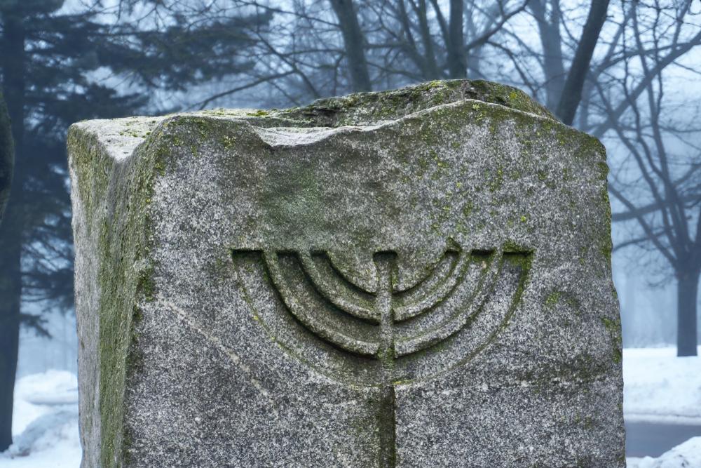 Мемориал погибшим в Холокосте в Минске. Фото: shutterstock